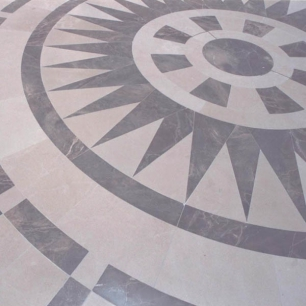 Internal Floor Tiles: Ambrato Minerva Honed
