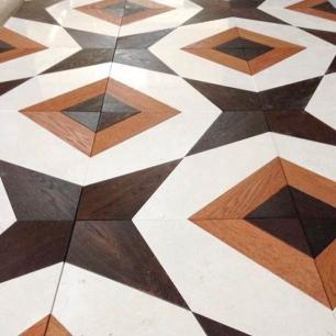 Stone Inserts: Rovere, Biancone Polished